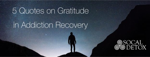 5 Gratitude Quotes | Thankfulness in Addiction Recovery