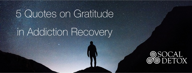 5 gratitude quotes for recovery
