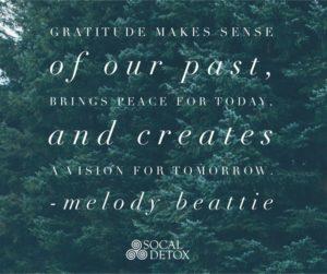 gratitude recovery quote